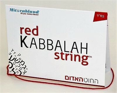 Red String Original Kabbalah Bracelet From Rachels Tomb in Israel