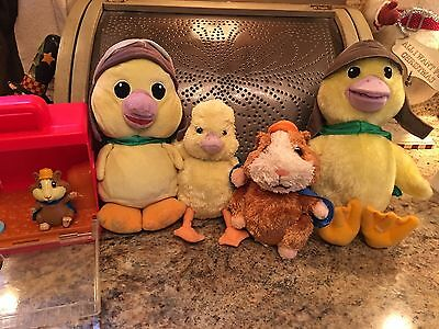 Wonder Pets LOT Plush Ty And Fisher Price