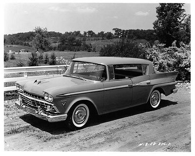 1959 AMC Rambler Rebel 4-Door Custom HT ORIGINAL Factory Photo oad7554