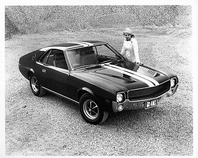 1968 AMC AMX ORIGINAL Factory Photo oad7589
