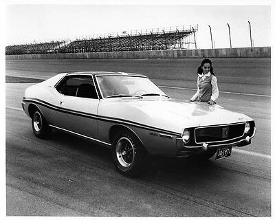 1971 AMC Javelin ORIGINAL Factory Photo oad7658-MMZJRJ