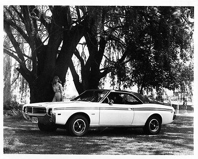 1969 AMC Javelin ORIGINAL Factory Photo oad7676-O7TM5N