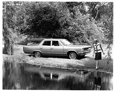 1967 AMC Rambler Rebel Station Wagon ORIGINAL Factory Photo oad7684-PYL1FZ