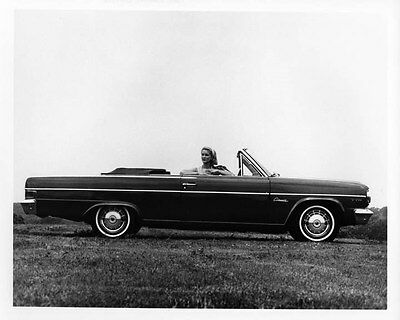 1965 AMC Rambler Classic Convertible ORIGINAL Factory Photo oad7809