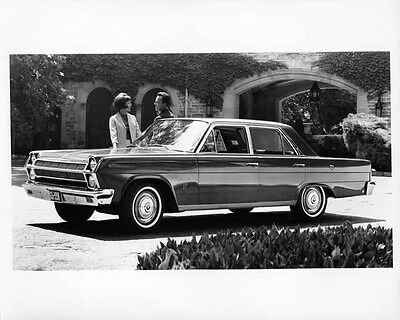 1965 AMC Rambler Ambassador 990 ORIGINAL Factory Photo oad7827