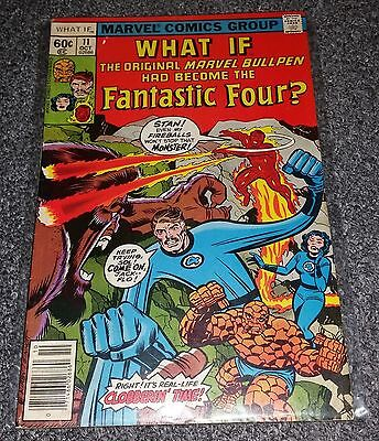 Marvel What If? Volume 1 issue #11, 1978 comic, (VG condition)