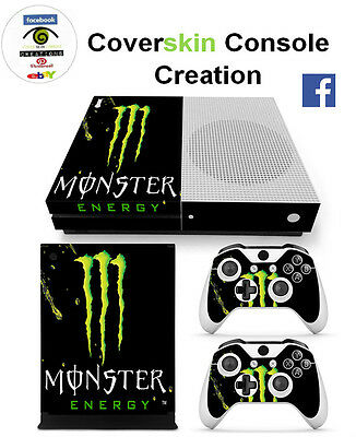 SKIN XBOX ONE S Console COVER Protective Skin Sticker controllers