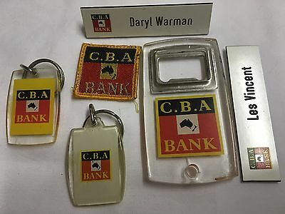 Commercial Bank CBA Collection Old Items