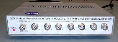 Stanford Research Systems FS710 Compact 7 Channel 10 MHz Distribution Amplifier
