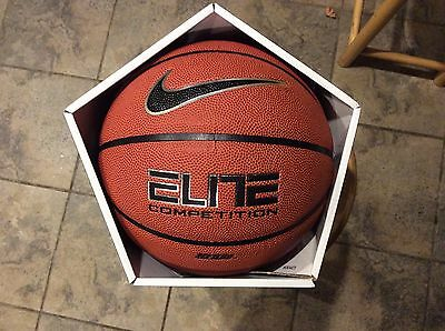Nike Elite Competition Basketball 29.5 Size 7 Official Full Tournament Ball New