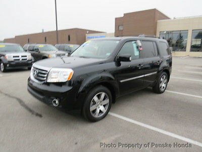 2015 Honda Pilot 4WD 4dr Touring w/RES & Navi 4WD 4dr Touring w/RES & Navi SUV Automatic Gasoline V6 Cyl Crystal Black Pearl