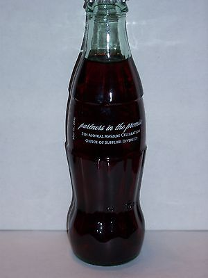 8 Oz Coca Cola Commemorative Bottle - 2006 Partners In The Promise