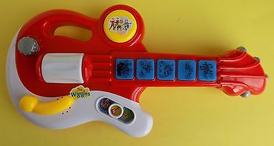 The Wiggles Musical Talking Singing Songs Baby Toddler Toy Guitar Instrument