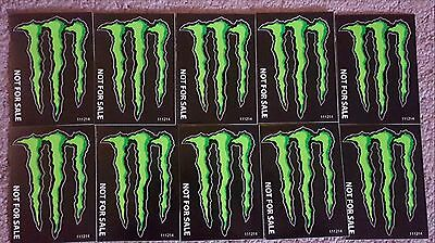 10 New Monster Energy Drink Logo Decal Stickers