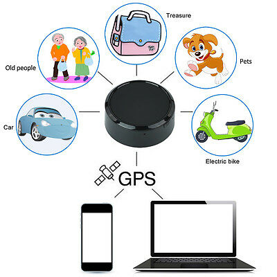SPY Car Hidden Vehicle GPS GPRS GSM Tracker Locator Anti-Theft Tracking Device