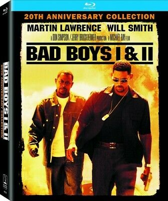 Bad Boys / Bad Boys Ii - 2 DISC SET (2015, Blu-ray New)