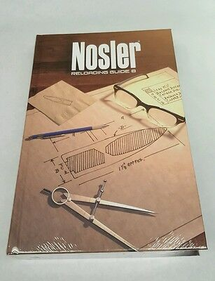 Nosler Reloading Manual #8, p/n 50008