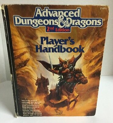 Advanced Dungeons And Dragons Players Handbook Second Edition
