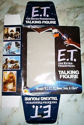 E.T. the Extra-Terrestrial Talking Figure Box – NO TOY INCLUDED