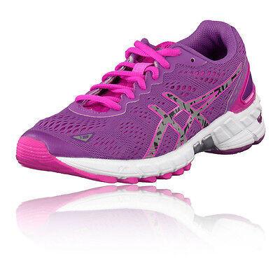 Asics DS Trainer 19 Womens Purple Support Running Racing Shoes Trainers