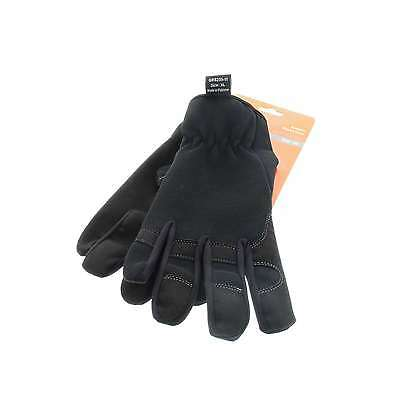 G-Force Synthetic Riggers Safety Glove Durable Synthetic Leather Palm XL