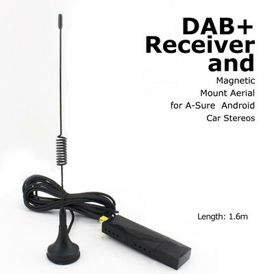 DAB+ Receiver Stick Dongle for A-Sure Android 6.0 /Android 5.1 Car Stereo