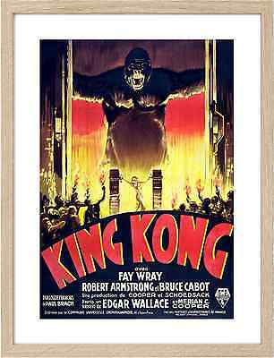 Framed A3 Classic Movie Posters 0658 King Kong 1