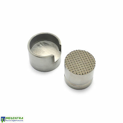 Implant Dental Classic Bone Crusher-Grinder Bone Grafting-Harvesting Cruncher SS