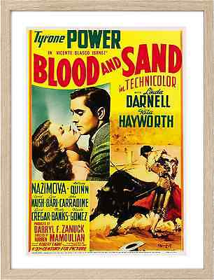 Framed A3 Classic Movie Posters 0659 Blood and Sand
