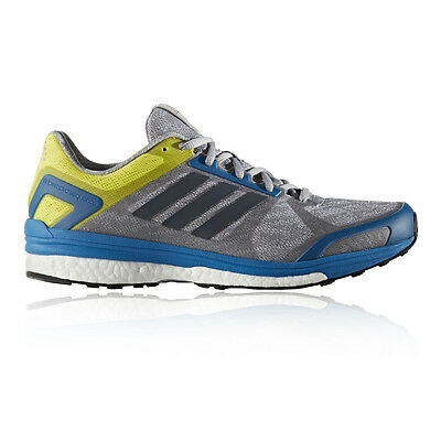Adidas Supernova Sequence 9 Mens Grey Support Running Road Shoes Trainers