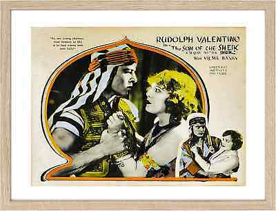 0661 The Son of the Sheik Framed Classic Movie Posters