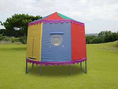 8'  8 Ft Trampoline Tent Cover Playhouse