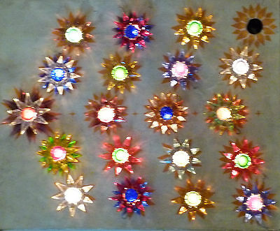 *** 19 Old Matchless Star Xmas Lights - Original around 1930 *** working
