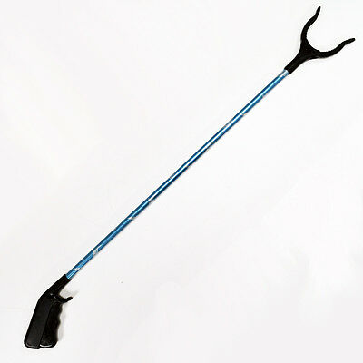 Handy Grabber / Reacher Stick – Disabled Mobility Reaching Aid - Blue Swallow