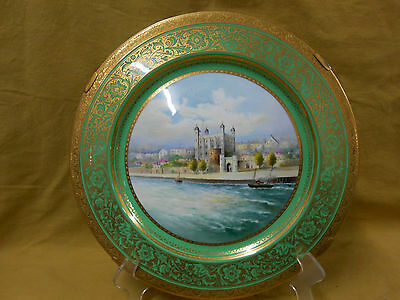 Minton Fine Hand Painted Charger.