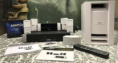 Bose Lifestyle V30 5.1 Channel Home Theater System White EXCELLENT