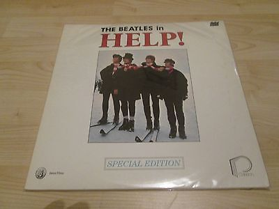 The Beatles 'help' Original 1987 Special 2 Disc Video / Laserdisc From America
