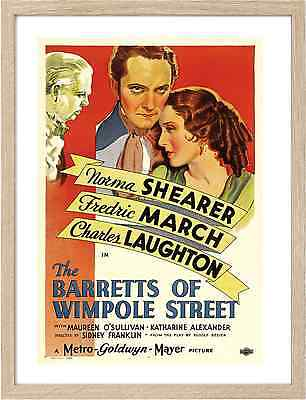 0665 The Barretts of Wimpole Street Framed Classic Movie Posters