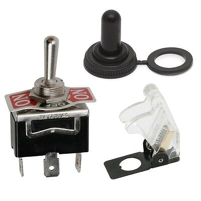 09054 Heavy Duty SPDT Centre Bias Momentary Toggle Switch (ON)-OFF-(ON) 10A 250V