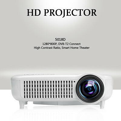 5018D HD 1080P Multimedia Home Cinema teatro Proiettore principale di HDMI USB