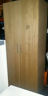 Office Cupboard in Beech 2350mm high