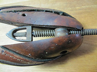 Vintage Wooden Shoe Stretcher, Retro Shop Prop Display