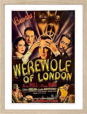 Framed A3 Classic Movie Posters 0677 Werewolf of London 3