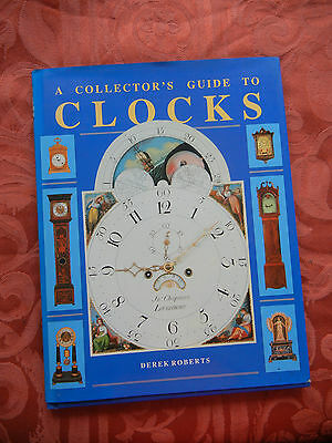 A Collectors Guide to Clocks,Great Ghristmas Gift.