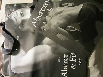 Abercrombie And Fitch Male Picture Bags Hunk Gay Interest Brand New Mint Rare  O