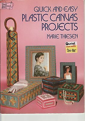 PLASTIC CANVAS BOOK - 'Quick & Easy Projects'