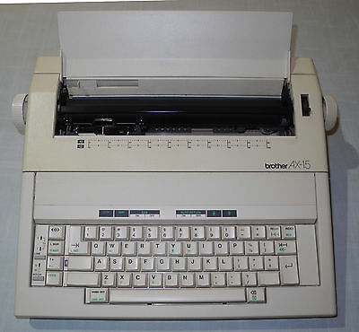 Brother AX-15 portable electronic typewriter