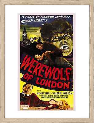 Framed A3 Classic Movie Posters 0687 Werewolf of London 4