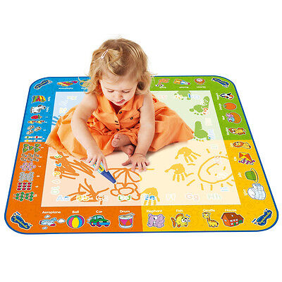 TOMY 72370 Kids Fun Classic Colour Aquadoodle Mat with 1 Pen - New