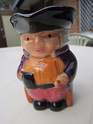 Vintage Staffordshire Pottery Hand Painted Toby Jug By Shorter & Son